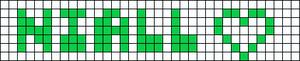 Alpha Friendship Bracelet Pattern #7232