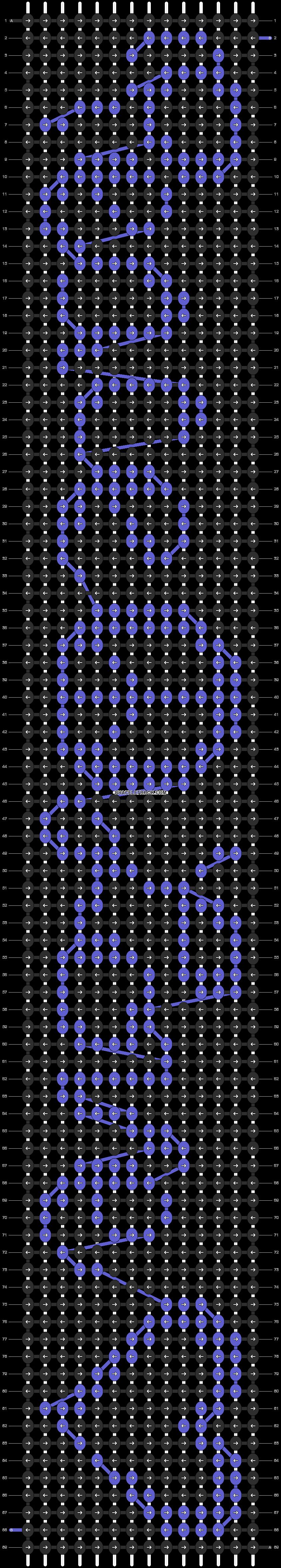 Alpha pattern #7233 pattern