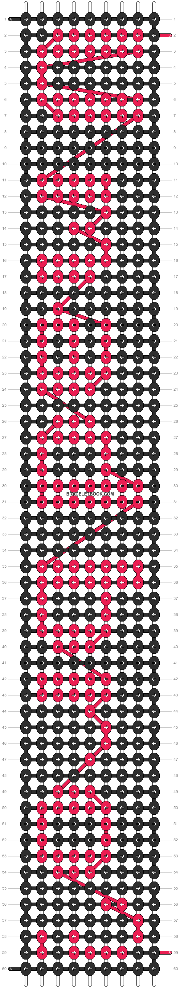 Alpha pattern #7245 pattern