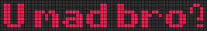 Alpha pattern #7245
