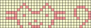 Alpha Friendship Bracelet Pattern #7246