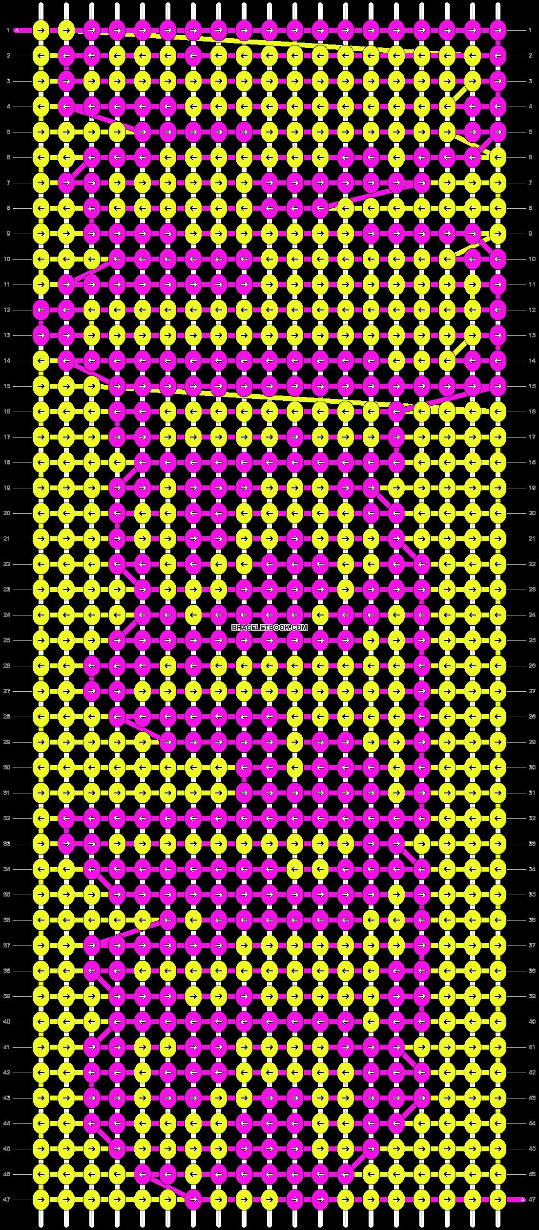 Alpha pattern #7251 pattern