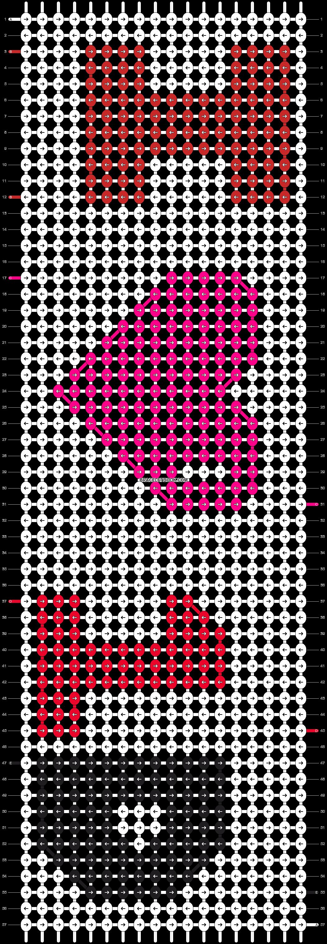 Alpha pattern #7256 pattern