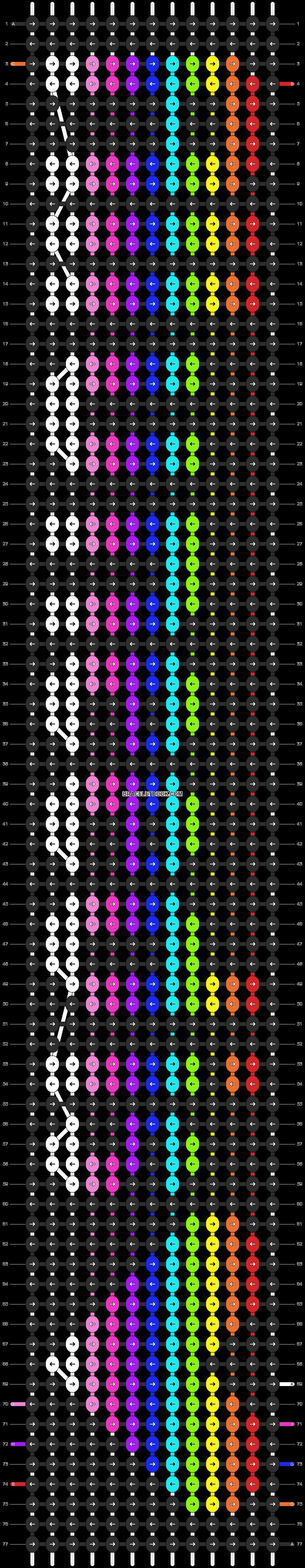 Alpha pattern #7260 pattern