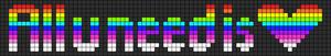 Alpha pattern #7260