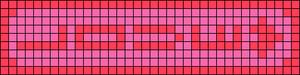 Alpha pattern #7264