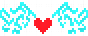 Alpha pattern #7266