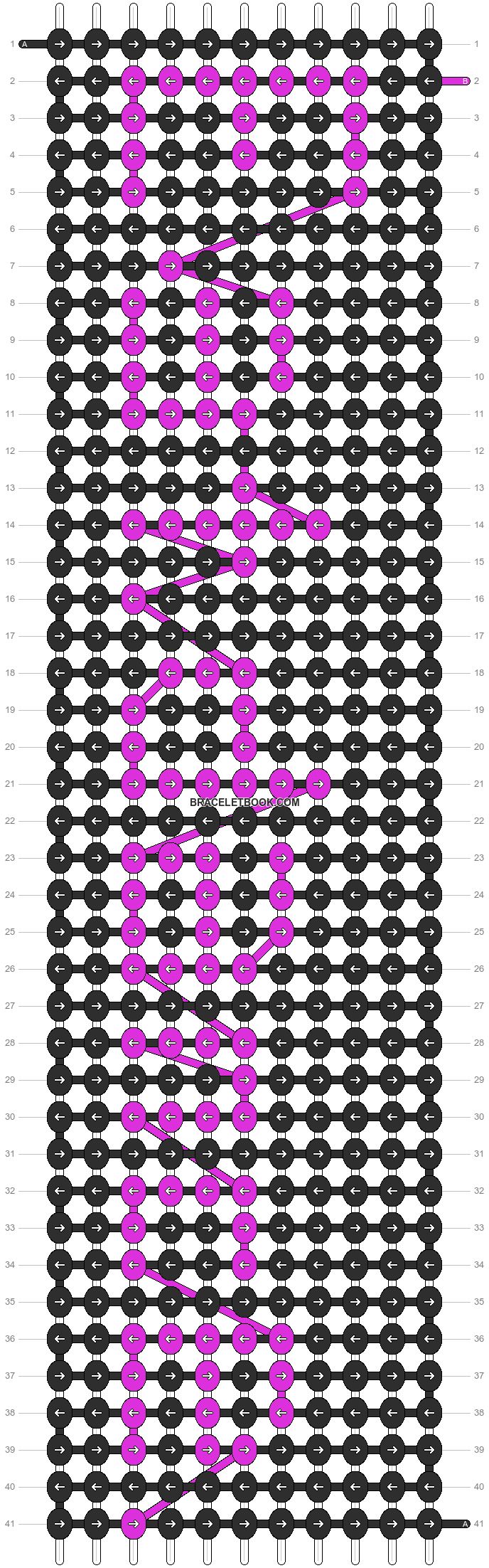 Alpha pattern #7270 pattern