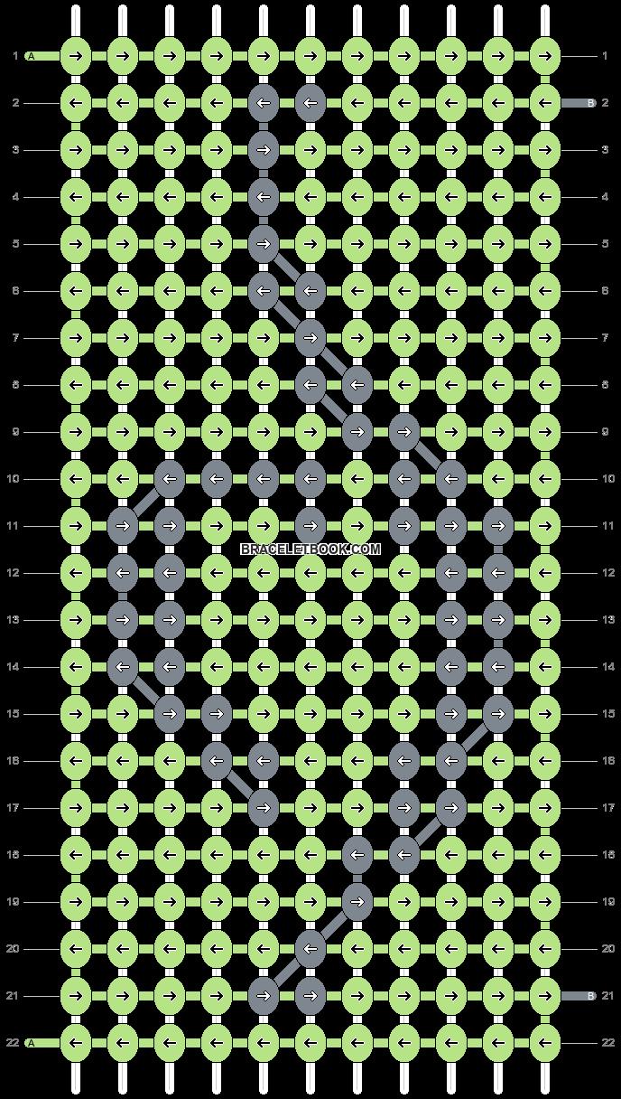Alpha pattern #7272 pattern
