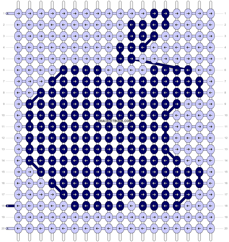 Alpha pattern #7276 pattern