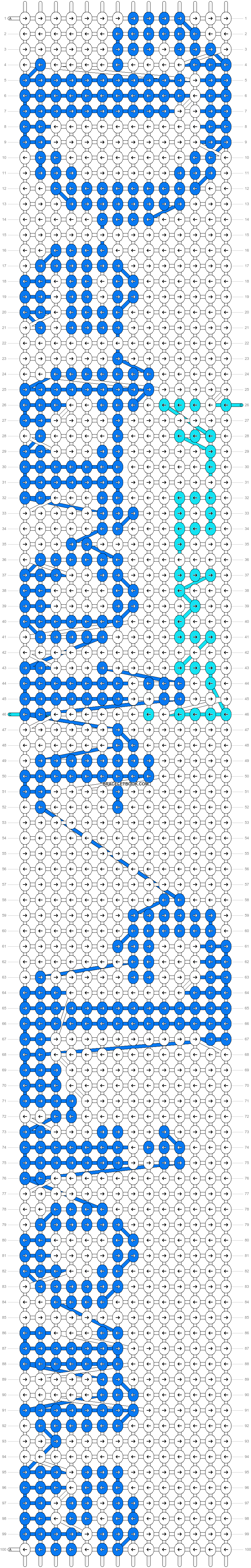 Alpha pattern #7277 pattern