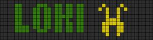 Alpha pattern #7281