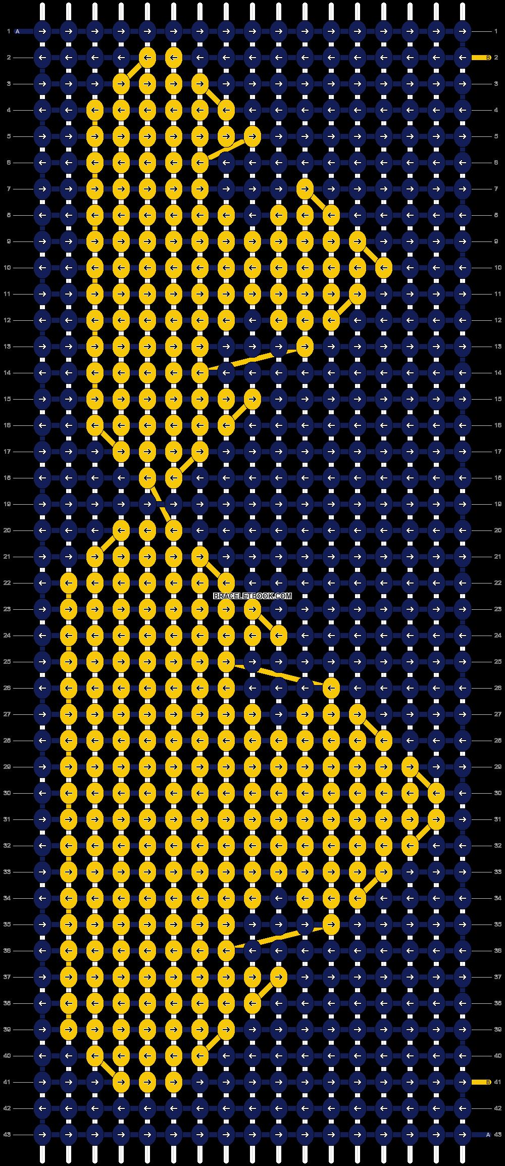 Alpha pattern #7285 pattern