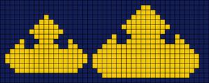 Alpha pattern #7285