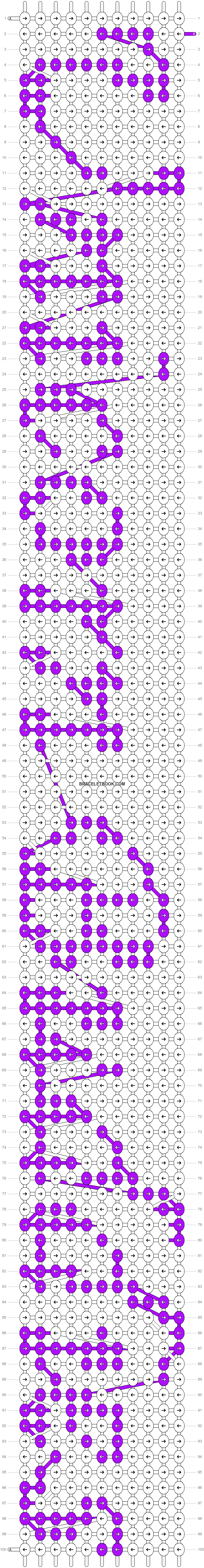 Alpha pattern #7286 pattern