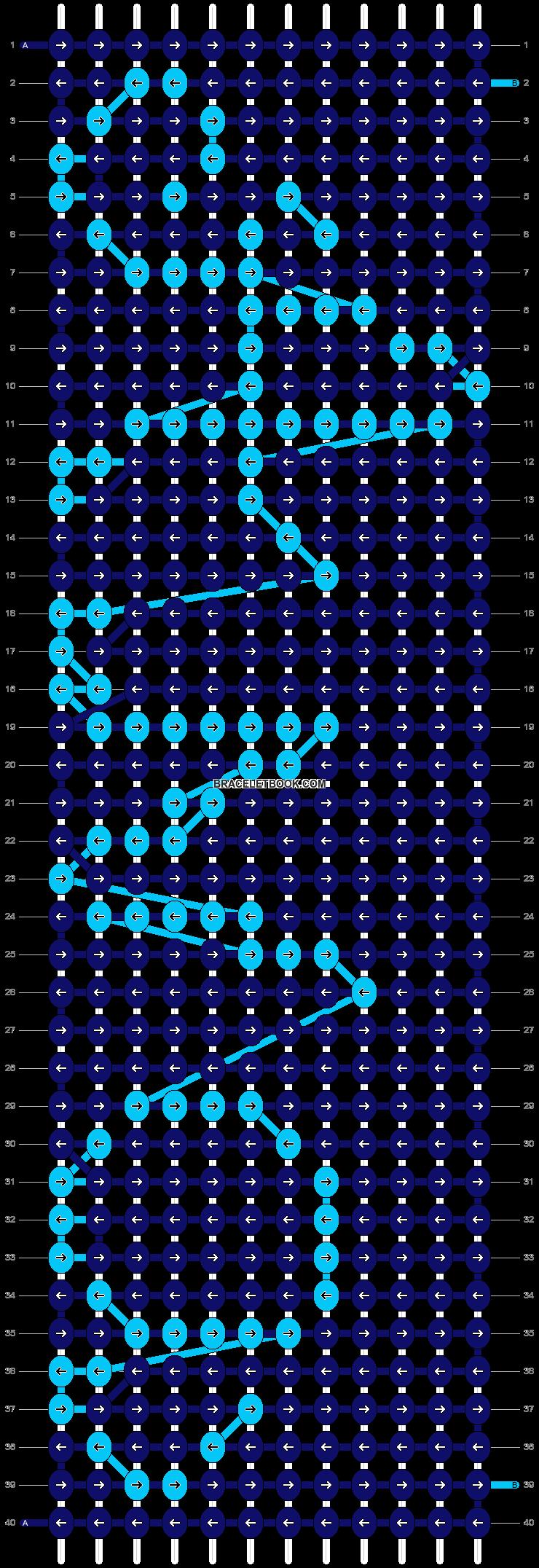Alpha pattern #7287 pattern