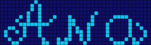 Alpha pattern #7287