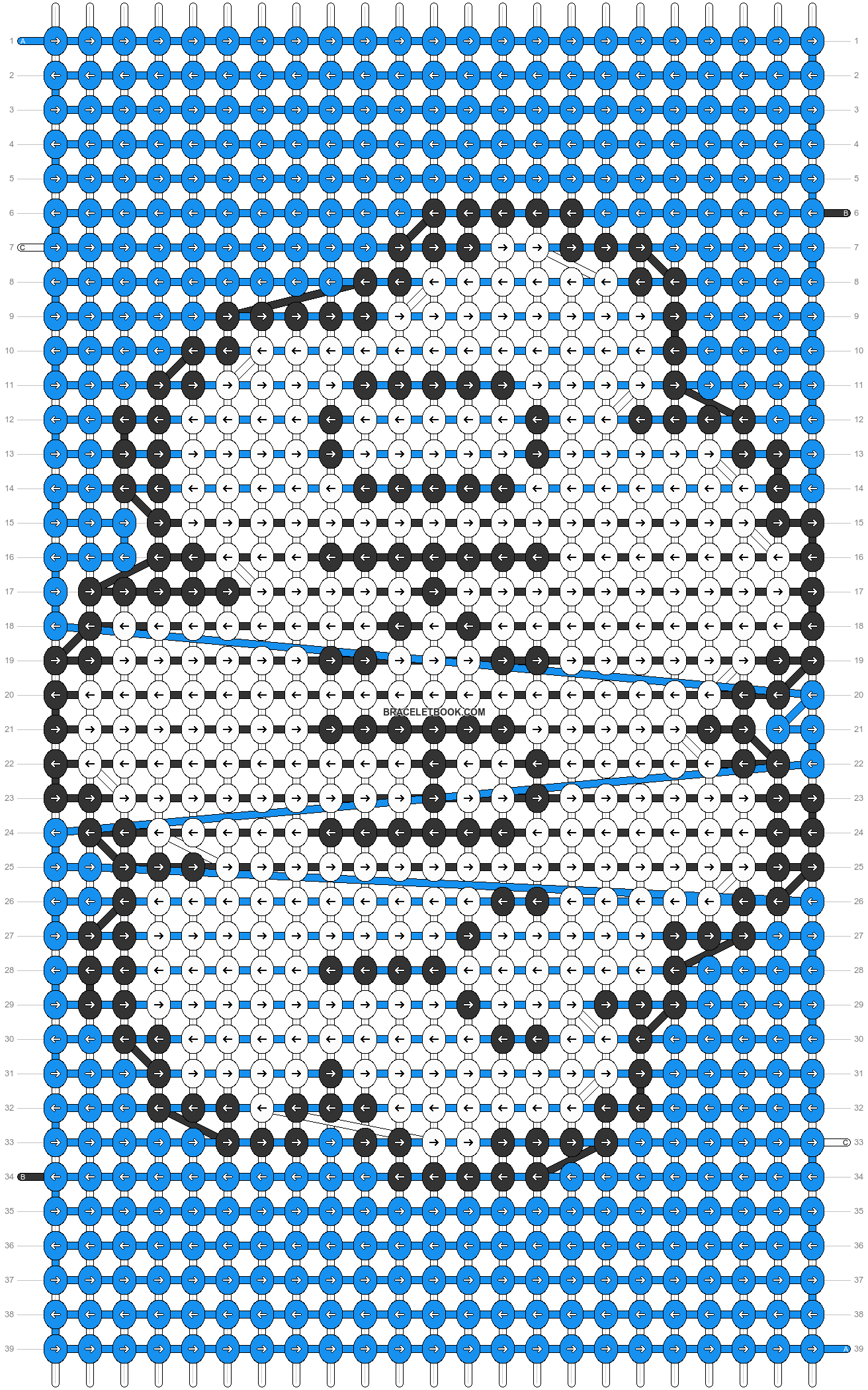 Alpha pattern #7288 pattern
