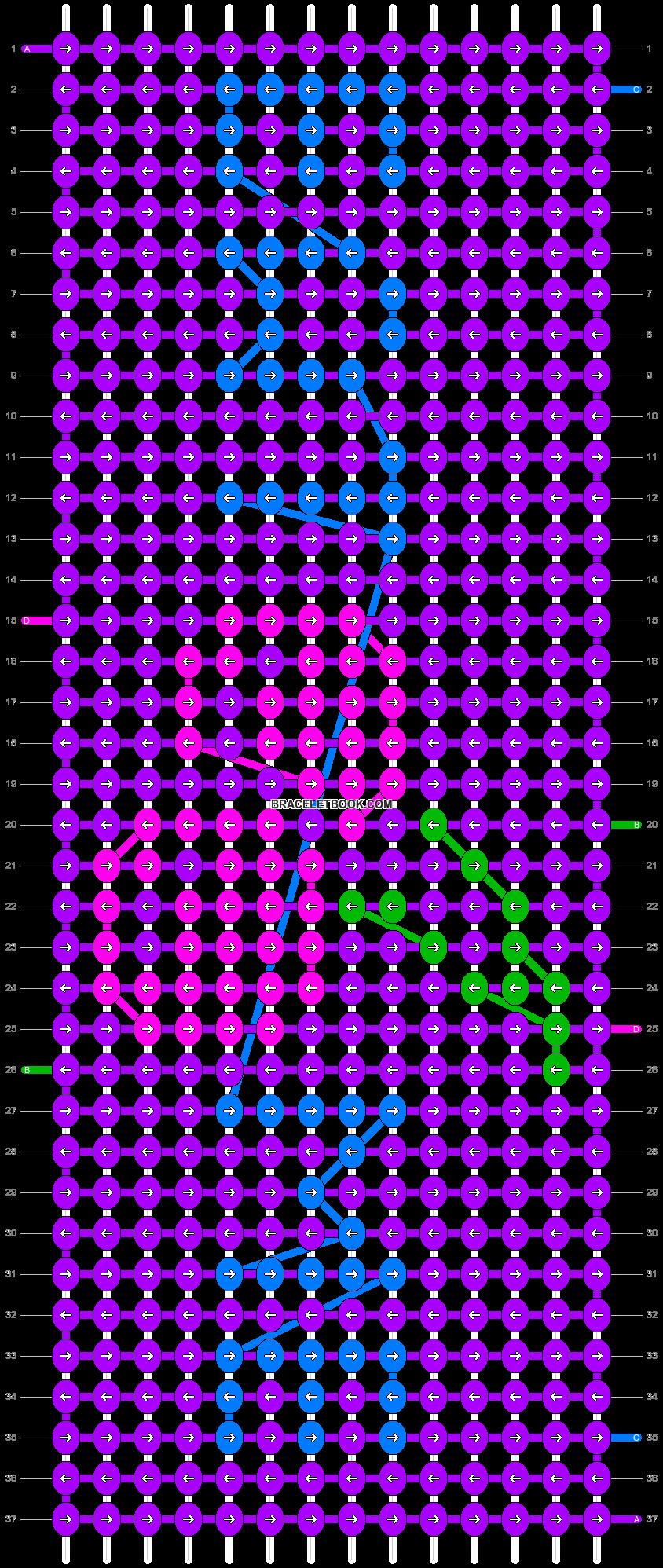 Alpha pattern #7291 pattern