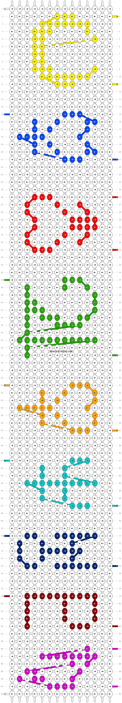 Alpha pattern #7299 pattern