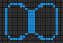 Alpha pattern #7300