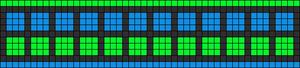 Alpha pattern #7301