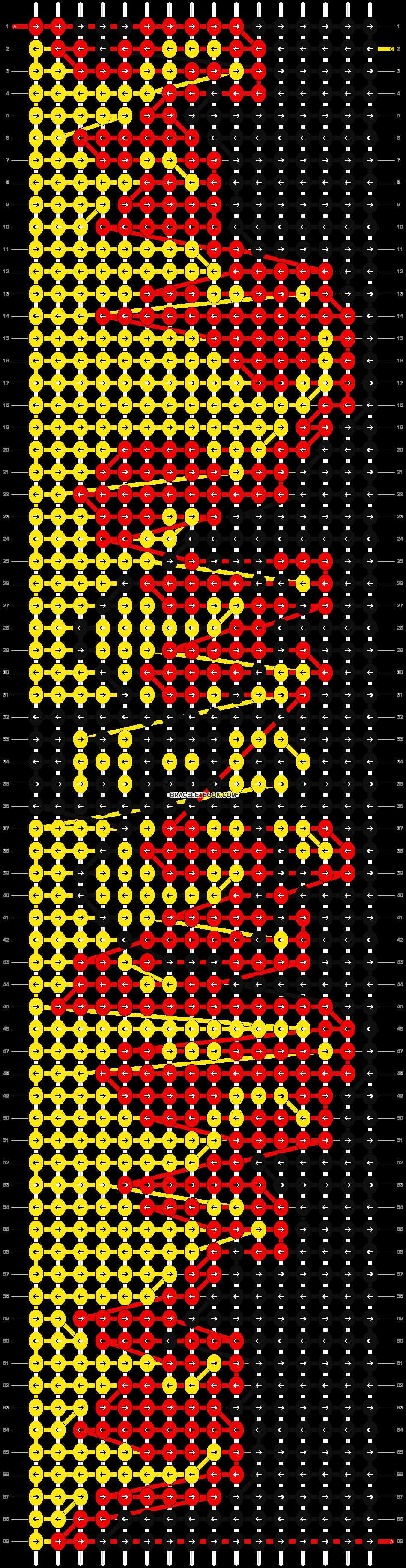 Alpha pattern #7306 pattern