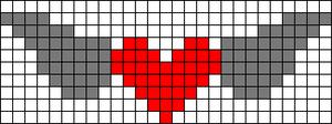 Alpha Friendship Bracelet Pattern #7307