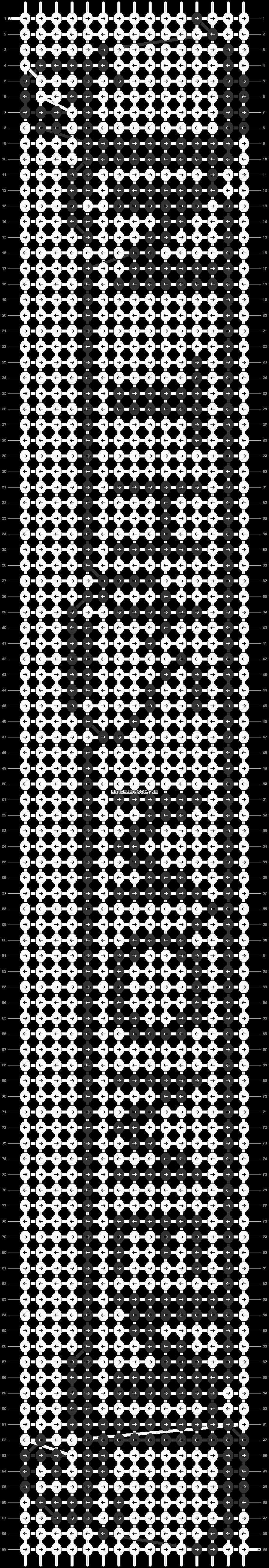 Alpha pattern #7329 pattern