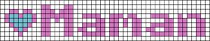 Alpha pattern #7330
