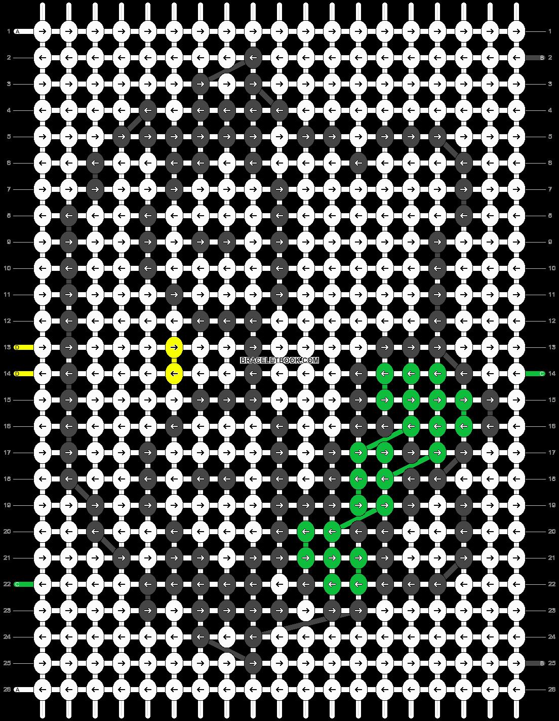 Alpha pattern #7333 pattern