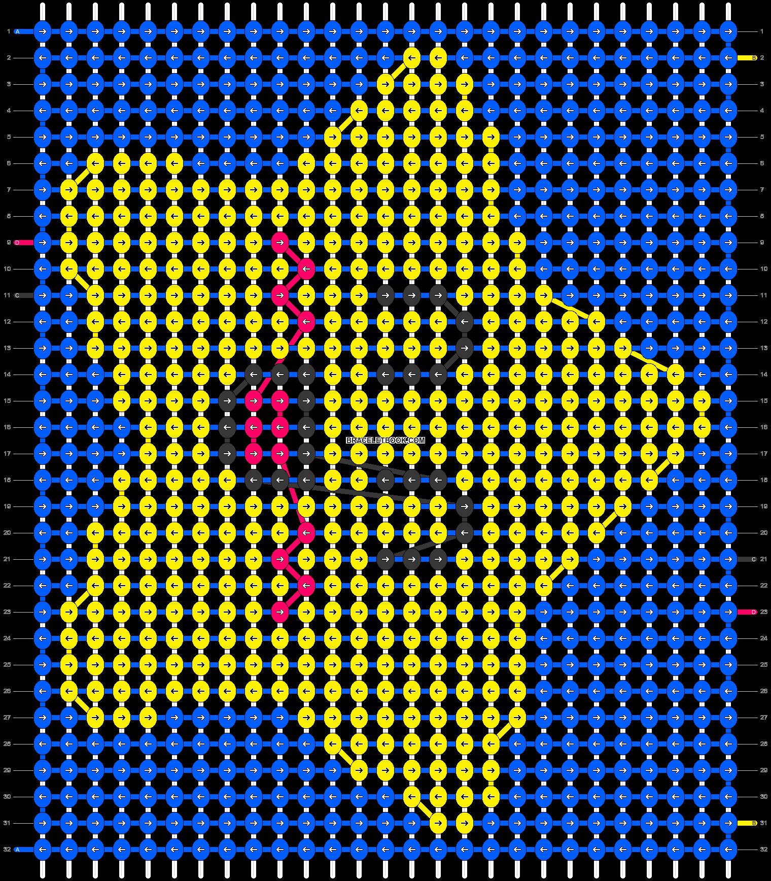Alpha pattern #7334 pattern