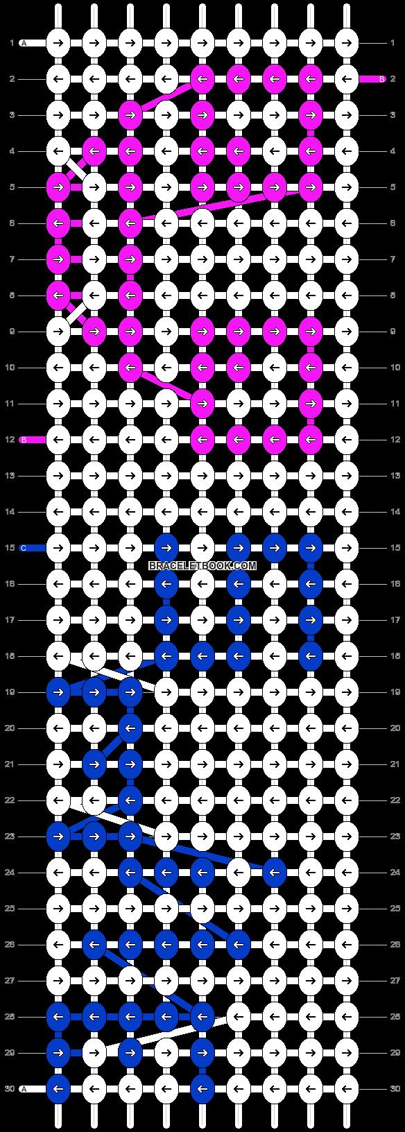 Alpha pattern #7340 pattern