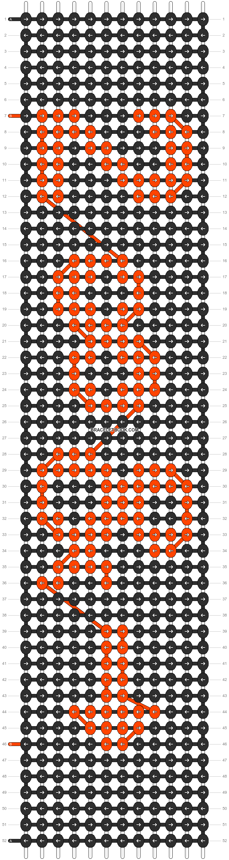 Alpha pattern #7341 pattern