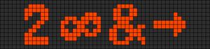 Alpha pattern #7341