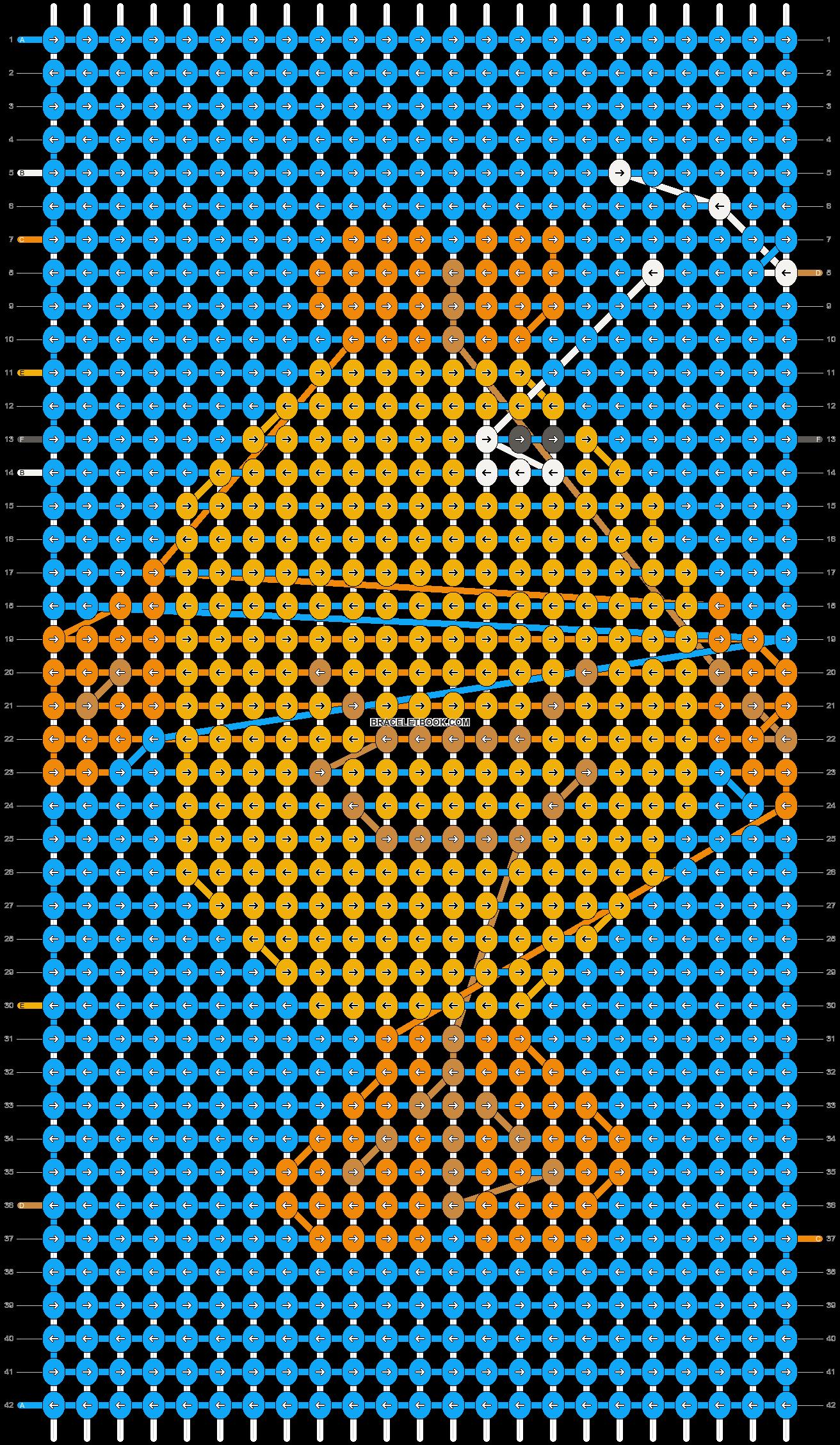Alpha pattern #7343 pattern