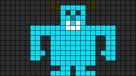 Alpha pattern #7349