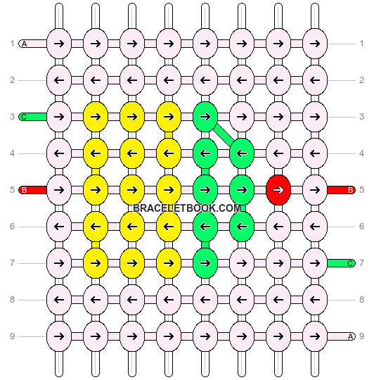 Alpha pattern #7363 pattern