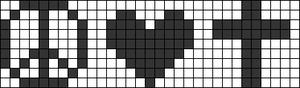 Alpha pattern #7366