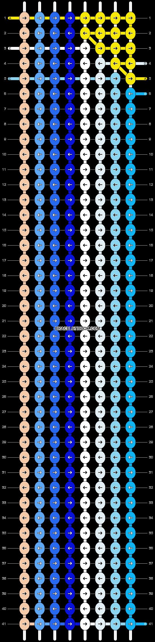 Alpha pattern #7374 pattern