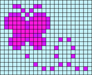 Alpha pattern #7378