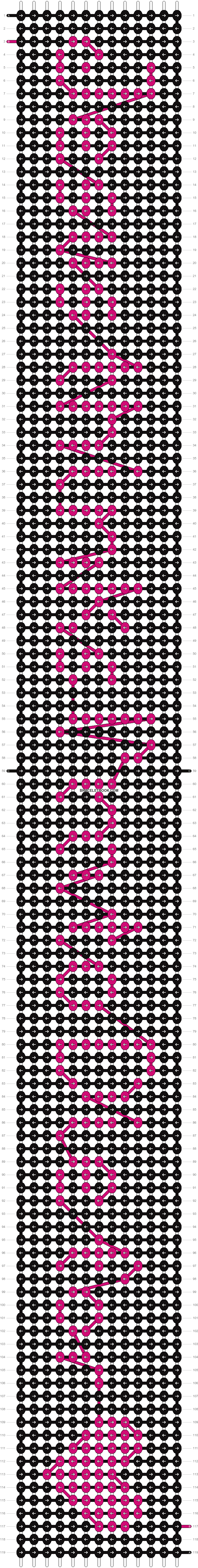 Alpha pattern #7381 pattern