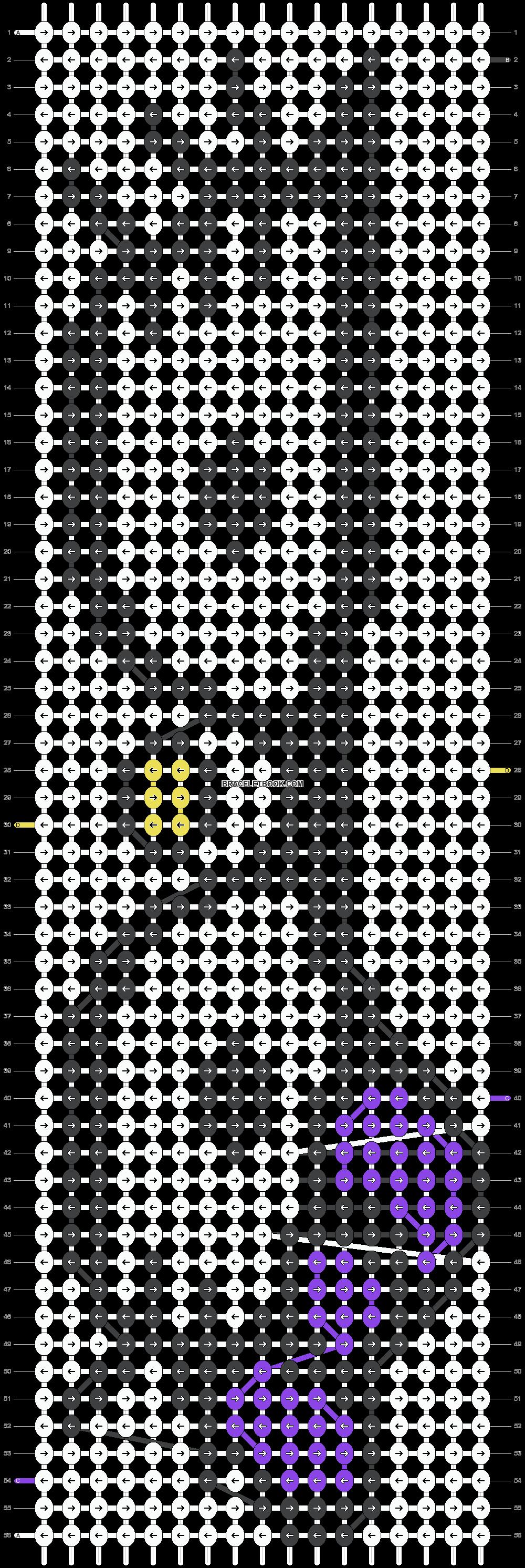 Alpha pattern #7382 pattern
