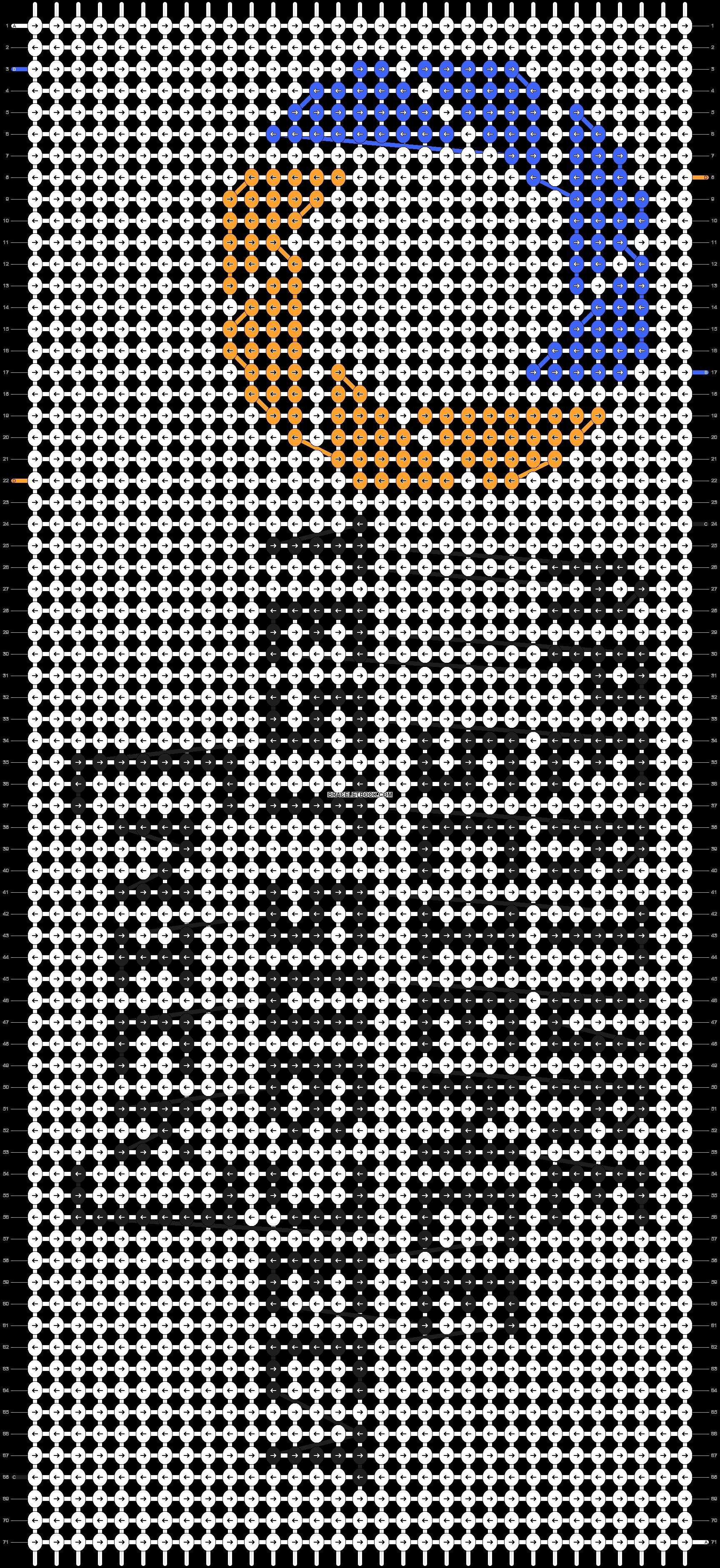 Alpha pattern #7383 pattern