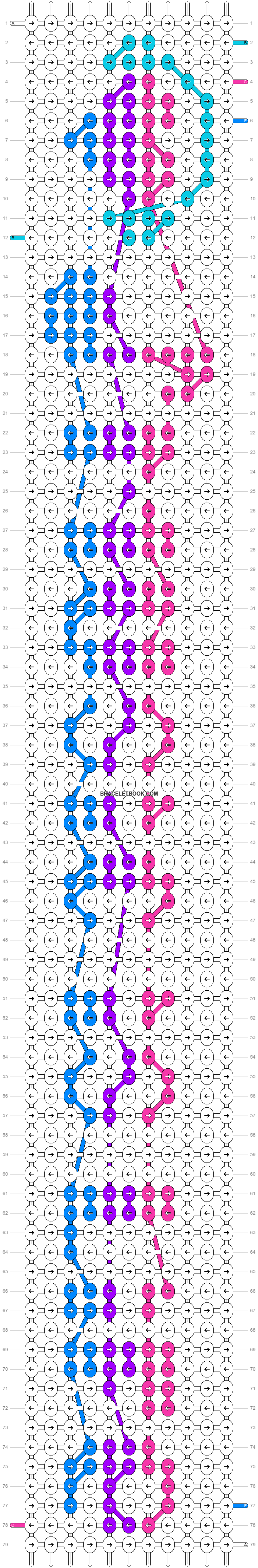 Alpha pattern #7393 pattern
