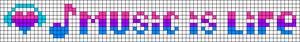 Alpha Friendship Bracelet Pattern #7393