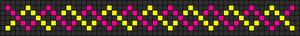 Alpha Friendship Bracelet Pattern #7398
