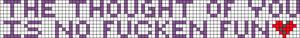 Alpha pattern #7406