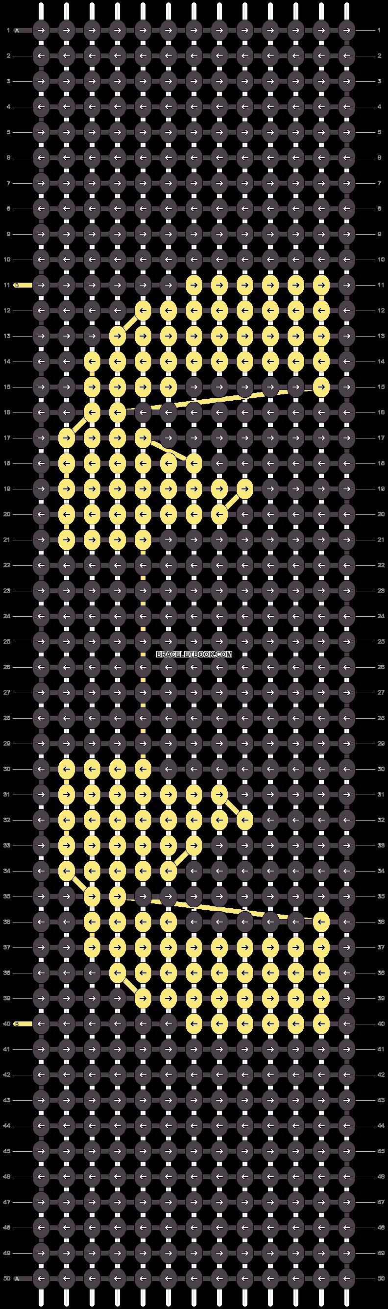 Alpha pattern #7408 pattern