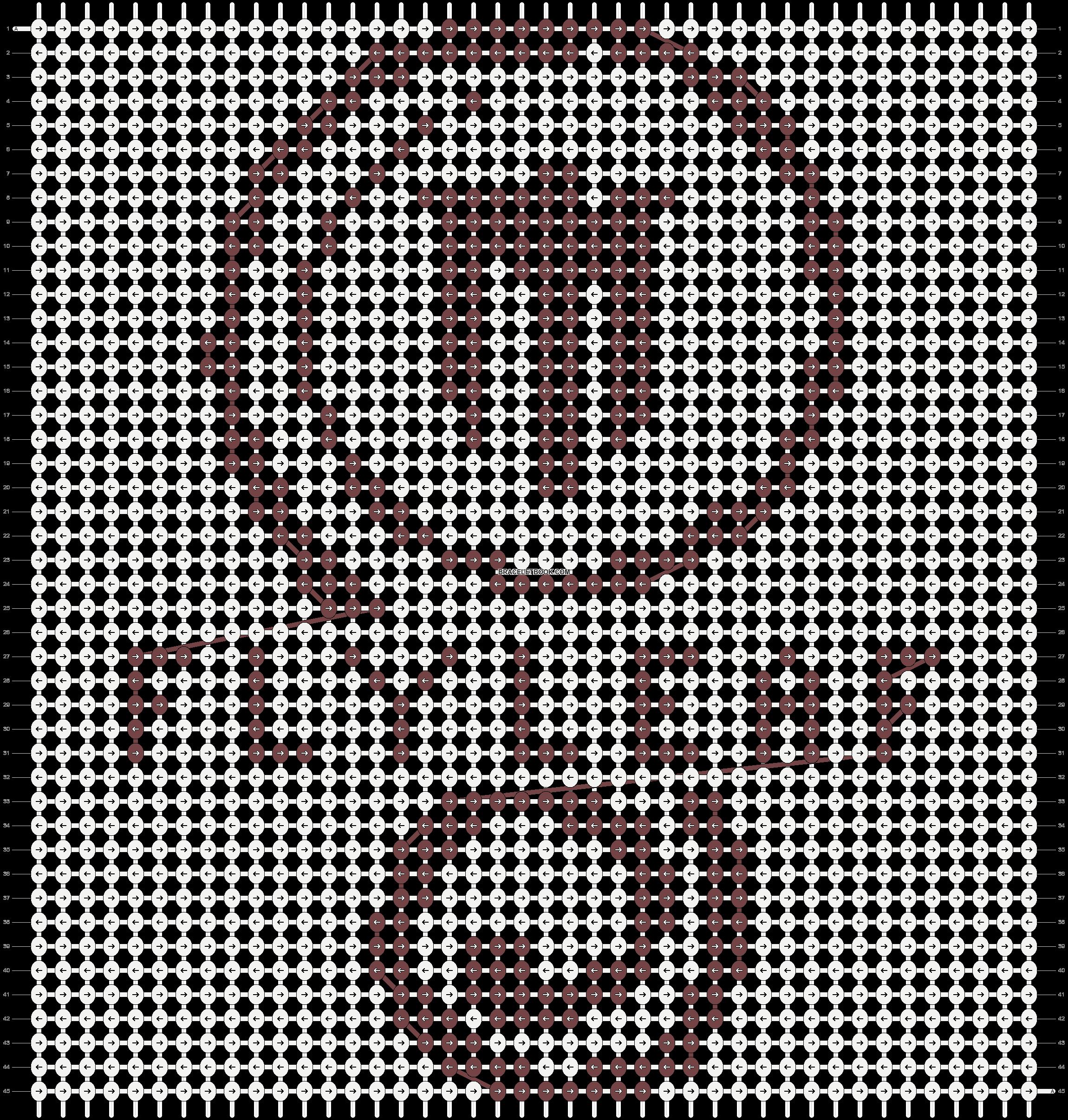 Alpha pattern #7410 pattern